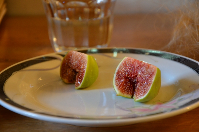Punk Chick's delicious home grown figs. The BEST ever!