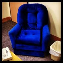 The Blue Chair