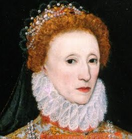 Queen Elizabeth the First a real plucker.