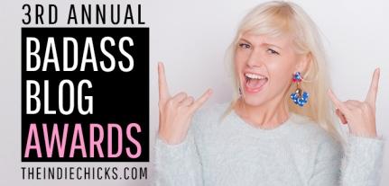 """Shittytittiebangbang """"winner of """"Badass Blog of the Year 2015"""""""