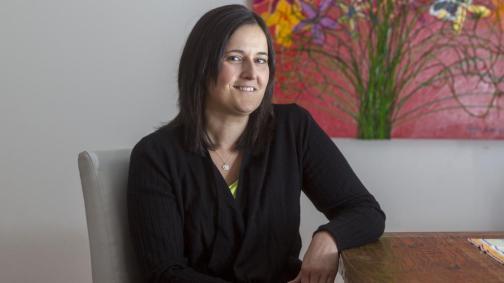 Mel is aiming to raise $100k for Lymphoma Australia's lymphoma nurse. Pic: Richard Serong